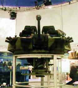 40 мм боевой модуль CTWS на боевой машине пехоты Marder