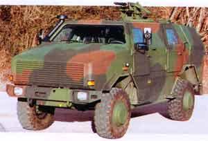 Бронеавтомобиль Dingo 2 фирмы Krauss-Maffei Wegmann