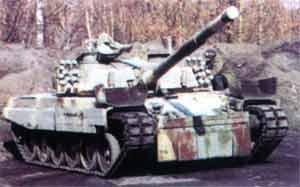 Последний вариант танка PT-91M, во время испытаний в Польше перед отправкой в Малайзию