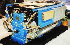 Двигатель AVDS-1790 мощностью1500л.с.