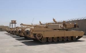 Иракская армия получает последнюю партию танков Abrams