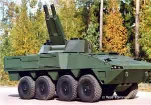 Patria Hagglunds поставит машины AMOS финской армии