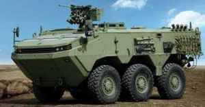 Otokar представляет бронемашину ARMA 6х6 на Eurosatory 2010