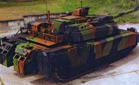 Комплекты AZUR для танка Leclerc поставляются в ОАЭ