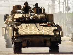 BAE Systems повысит защиту солдат в БМП Bradley по контракту в $ 62 млн.