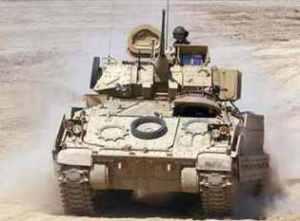 БМП Bradley, которую должна заменить GCV
