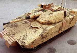 BTID на шведской БМП CV9040