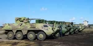 Украинские бронетранспортеры БТР-4 прибыли в Ирак