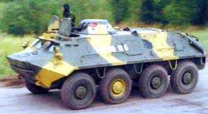 Россия проводит комплексную модернизацию своих боевых бронированных машин