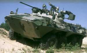 Новый российский бронетранспортер БТР-90