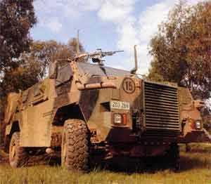 Австралийская машина Bushmaster отвечает современным требованиям