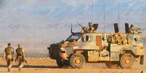 Bushmaster (Австралия) участвует в боевых операциях