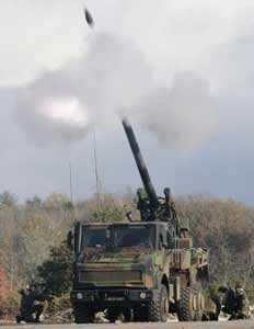 Колесная самоходная артиллерия
