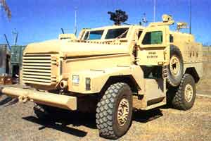 Cougar Joint Explosive Ordnance Disposal Rapid Response Vehicles