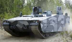BAE на Eurosatory продемонстрирует CV90 Armadillo