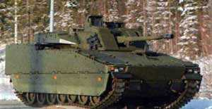 Фирма BAE Systems планирует поставлять БМП CV90 Mk 3 на Ближний Восток