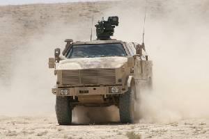 Германская армия заказывает 39 дополнительных бронированных патрульных машин DINGO 2