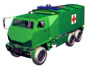 Бронированная санитарная машина DURO III P