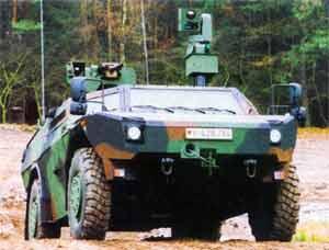 Легкая бронированная разведывательная машина  Fennek будет производиться голландской фирмой DDVS