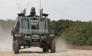 Израильские боевые роботы бродят по земле