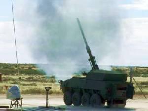 Denel испытывает пушку с возможностью последовательного выстрела трех снарядов
