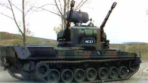 Gepard, подготовленный для поставки в Румынию