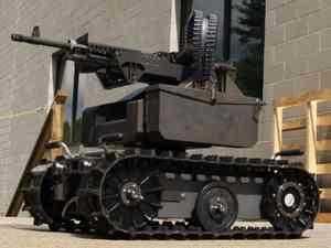 Новая роботизированная боевая платформа
