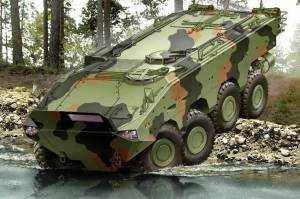 Фирма Iveco Defence Vehicles выставляет на выставке IDET 2009  ряд бронированных машин