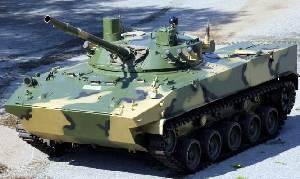 Боевая машина десанта БМД-4М с боевым модулем «Синица»
