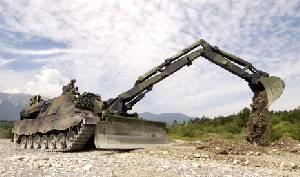 Бронированная инженерная машина Leopard AEV