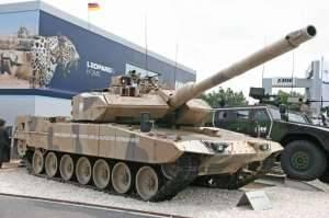 Дебют Леопард-2 A7 + на Eurosatory 2010