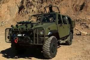 Iveco представляет новый вариант LMV SF