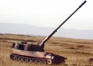 САУ M109I7 с пушкой L52 калибром 155 мм и длинной 52 калибра обеспечит дальность стрельбы до 42 км