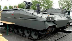 Rheinmetall Defence демонстрирует на Eurosatory 2012 два варианта модернизации Marder