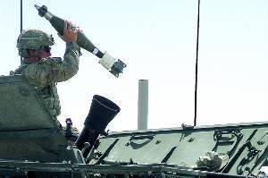Stryker в Афганистане получают более точные минометы