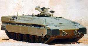 Израиль усиливает защиту своих десантников, используя тяжелые БМП