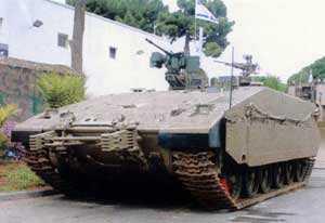 Израиль заказывает первую партию тяжелых БМП Nemer