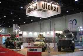 На выставке IDEX-2009 фирма OTOKAR продемонстрировала бронемашину с противоминной защитой KAYA