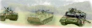 Глубокая модернизация навигационной аппаратуры БМП/ БМД и танков Т-90/Т-72 на основе комплекса «ГАЛС - Д2М»