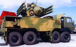 """зенитен ракетно-оръдеен комплекс """"Панцир""""-С"""""""