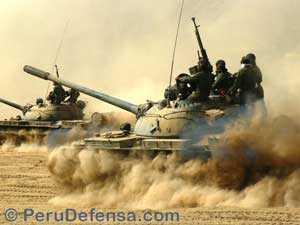 Перуанская армия оценивает возможность модернизации Т-55