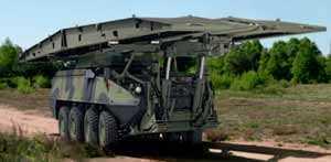 MOWAG разработала бронированный мостоукладчик на базе Piranha III