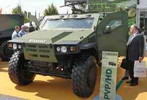 DGA заказал 232 легких бронированных машины PVP