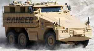 Новое поколение бронированной патрульной машины представлено в Европе