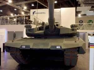 Rheinmetall предлагает концепцию модернизации танков - MBT Revolution