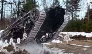 Вооруженная беспилотная машина RipSaw-MS2 UGV для охраны конвоев и огневой поддержки