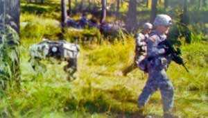 Автоматические транспортные средства снабжения для солдат на поле боя