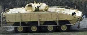 Польша демонстрирует усовершенствованный вариант колесной БМП Rosomak