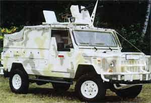 Польский бронированный автомобиль Scorpion 3