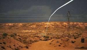 Полет управляемой пули. Фото национальной лаборатории Sandia